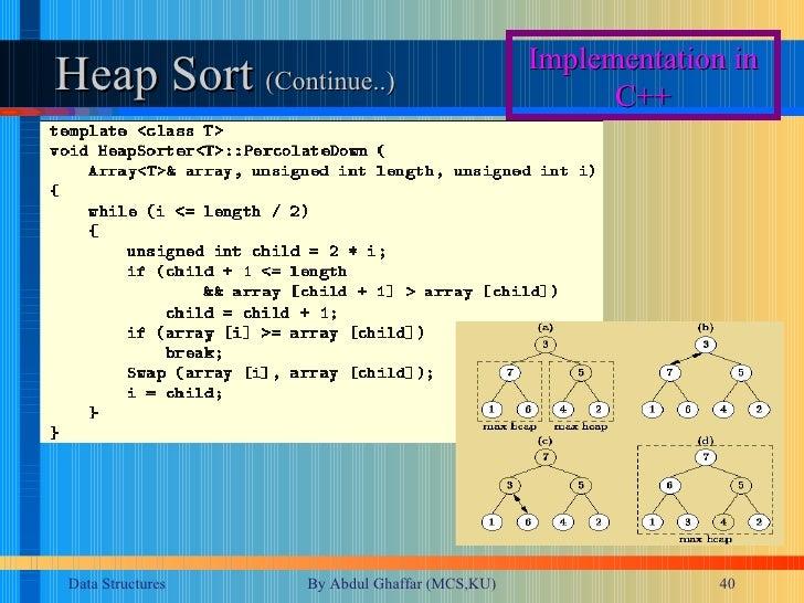 heap sort dev c++  free software