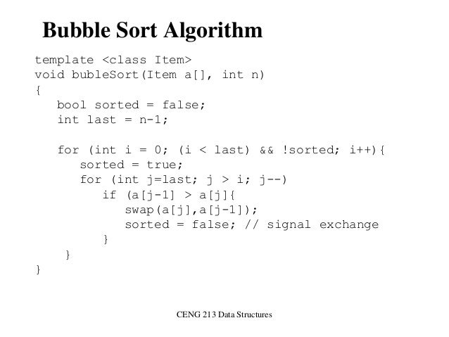 BUBBLE SORTING IN DATA STRUCTURE EPUB