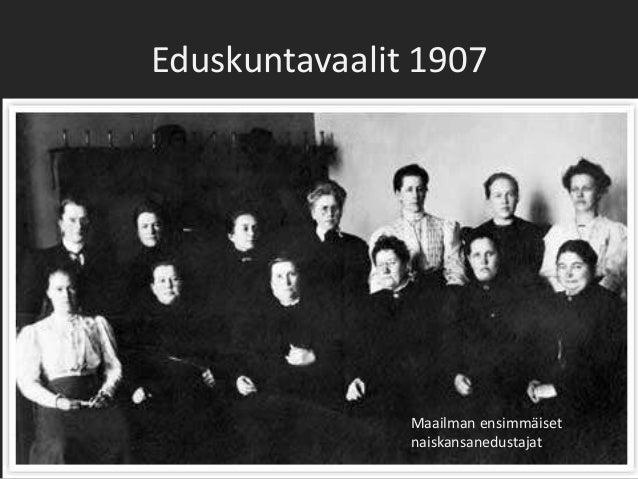 Eduskuntavaalit 1907
