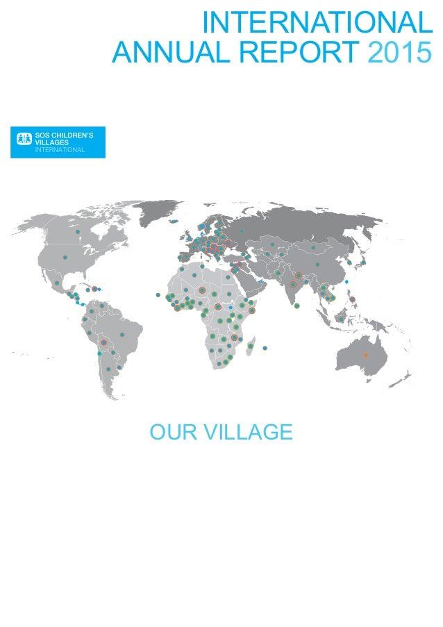 SOS Children's Villages 2015 International Annual Report