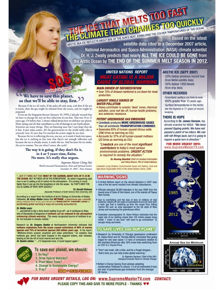 SOS Climate Change Flyer