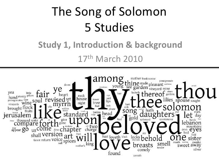 Identity in Song of Solomon