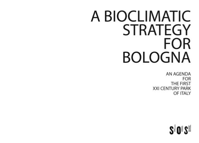 A Bioclimatic Strategy for Bologna