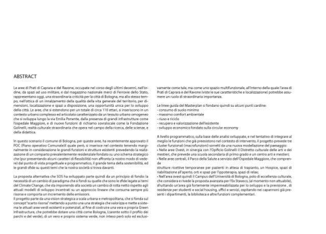 A Bioclimatic Strategy for Bologna  Slide 2
