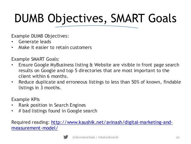 goals and objectives template excel - excel power ups for going beast mode in local seo