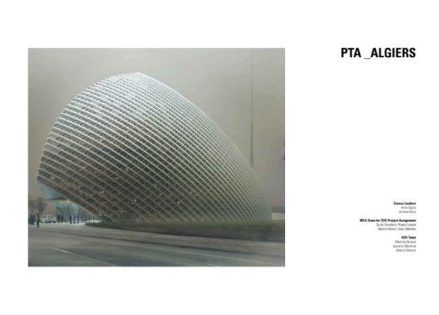 PTA  Algiers, enviromental simulation
