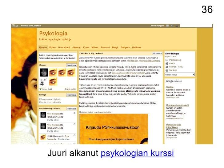 sosiaalinen psykologia online dating