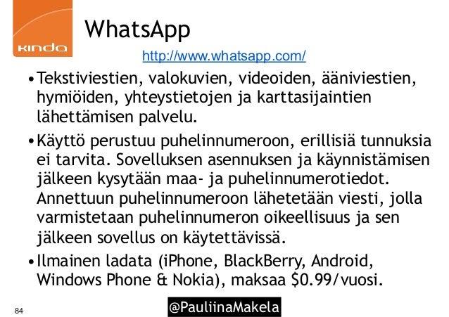Sosiaalinen media työkäytössä - Tampereen yliopisto