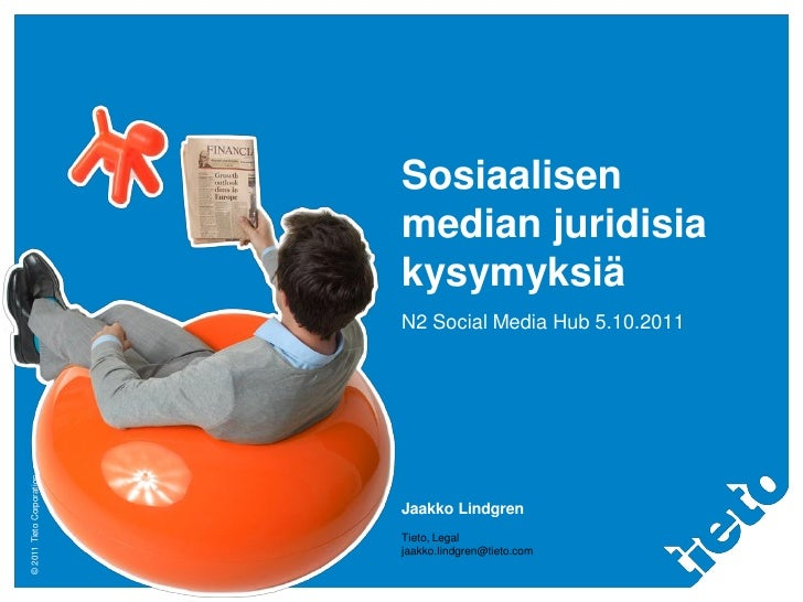 Sosiaalisen                           median juridisia                           kysymyksiä                           N2 S...