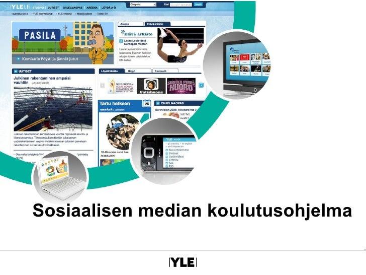 Sosiaalisen median koulutusohjelma