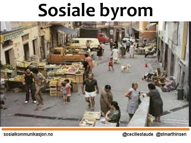 Sosiale byrom