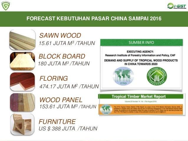 3. Produk kayu adalah simbol kemewahan KEISTIMEWAAN PRODUK KAYU 4. Peluang pasar yang sangat besar, di Indonesia saja memb...