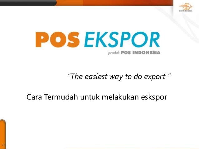 Forum Sdm Bali Agen Pos Sosialisasi Pos Ekspor Ukm Dpr