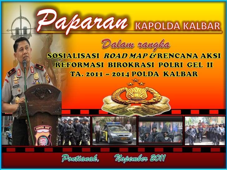 PEDOMAN UMUM  REFORMASI BIROKRASIPERMENPAN NO: PER/15/M.PAN/7/2008