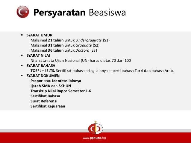 essay untuk beasiswa turki