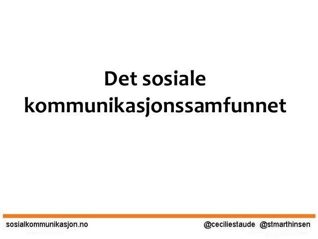 Sosial Journalistikk