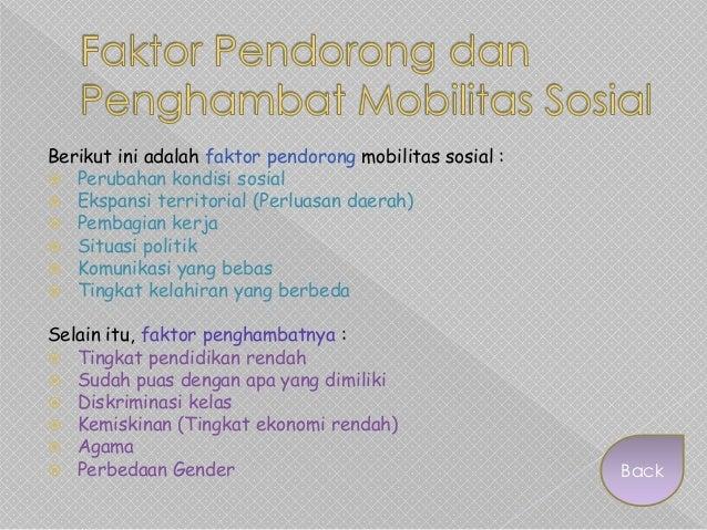 Sosiologi - Mobilitas Sosial
