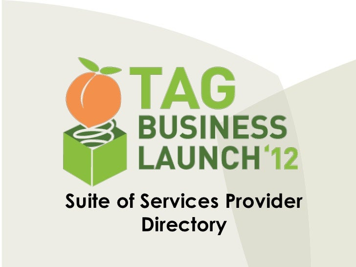 Suite of Services Provider         Directory