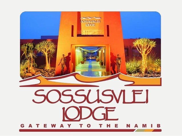 Luxury at the Entrance Gate to Sesriem Canyon & the famous Sossusvlei