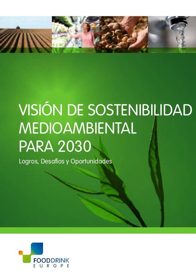 VISIÓN DE SOSTENIBILIDAD MEDIOAMBIENTAL PARA 2030 Logros, Desafíos y Oportunidades