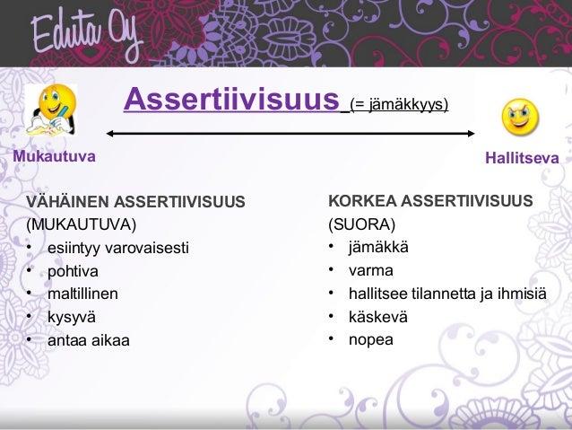 Assertiivisuus