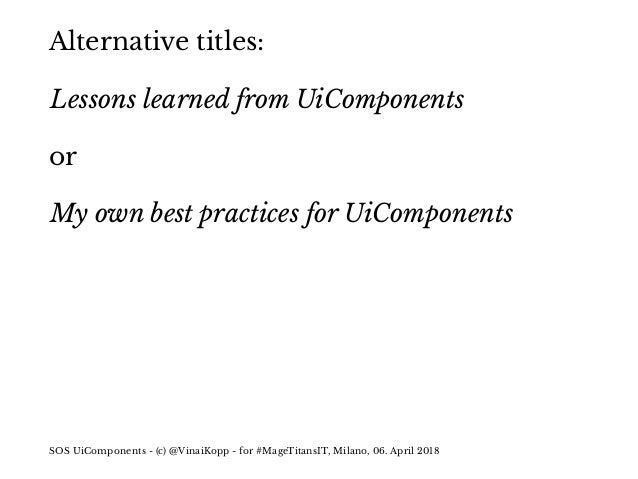 SOS UiComponents Slide 3