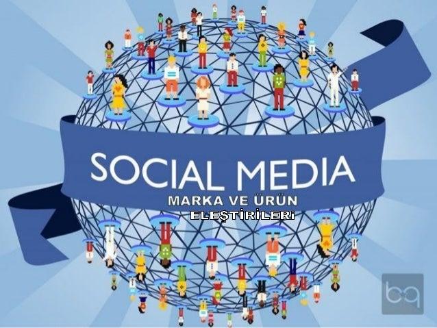 Sosyal medya marka eleştirileri