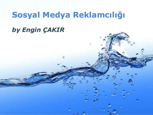 Sosyal Medya Reklamcılığı by Engin ÇAKIR  Page 1