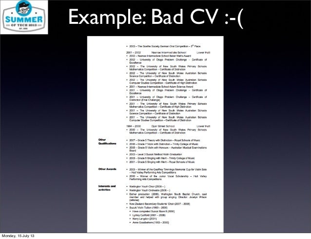 Examples Bad Resume Best Nanny Resume Example Livecareer Create Resume  Domainlives  Example Of Bad Resume