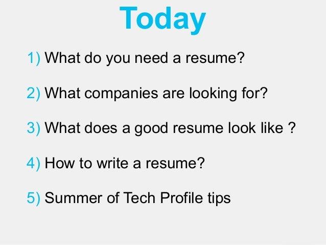 summer of tech resume 2014