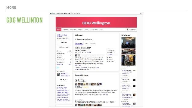 MORE GDG WELLINTON
