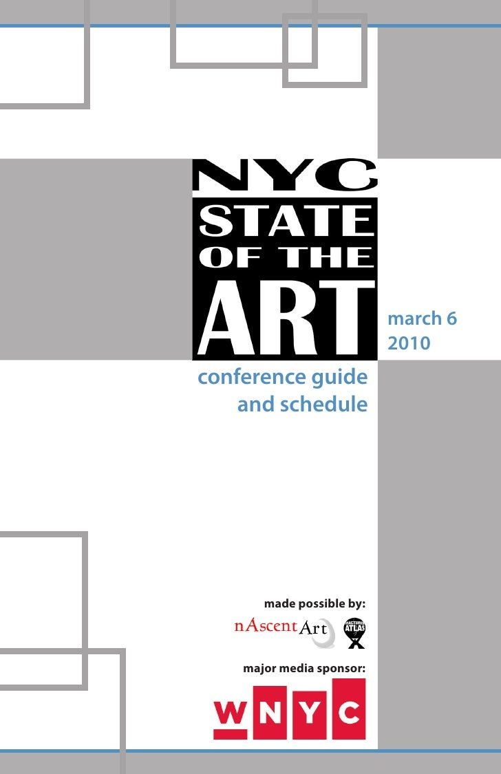 march 6                            2010 conference guide     and schedule            made possible by:         major media...