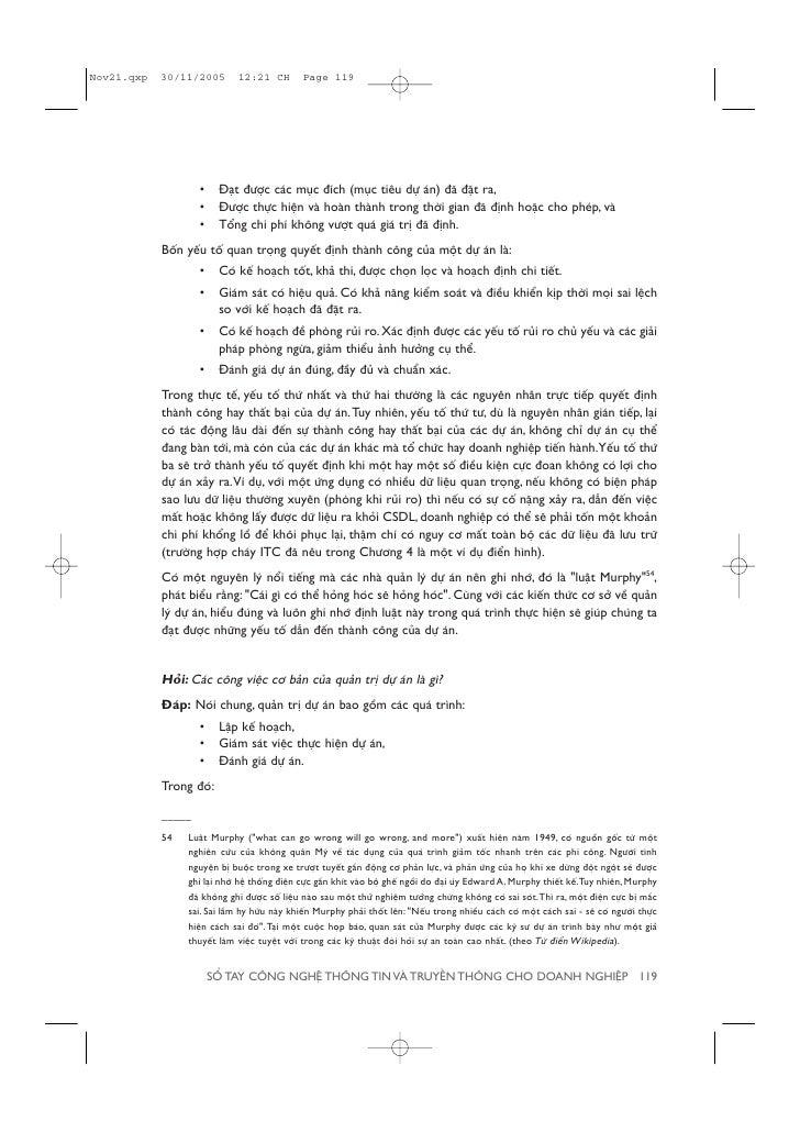 Sổ Tay CNTT Dành Cho Doanh Nghiệp