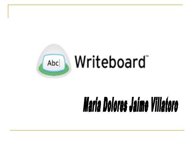 ¿ Qué es?  Es una herramienta de colaboración online con el slogan: Escribe, Comparte, Revisa y Compara.  Fue creado por...