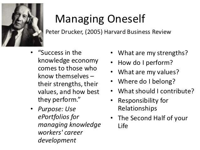 managing oneself ergahfn