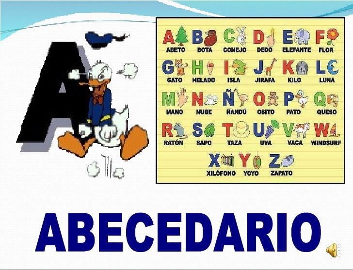 sotfware educativo para niños del abecedario