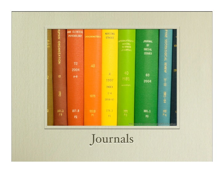 http://www.flickr.com/photos/63969483@N00/844363451     Journals