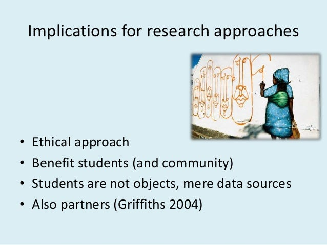 Research relations within social justice approach • Collaboration amongst staff • Appreciation and robust debate • Respect...