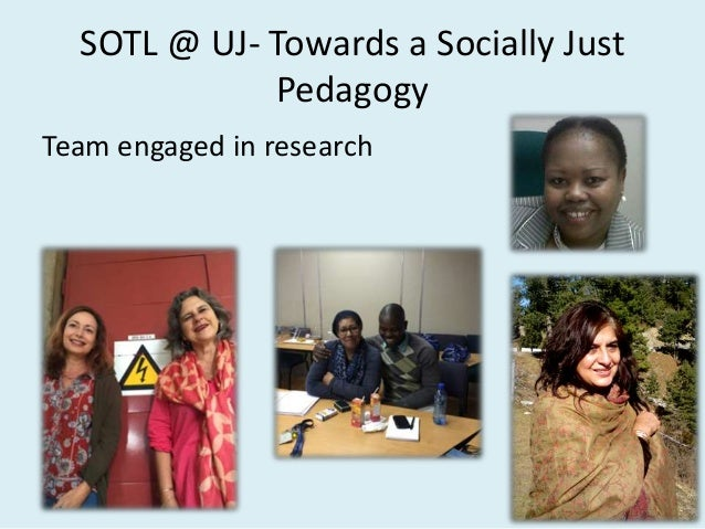 Examples of SOTL Projects CURRICULUM RESTRUCTURING IN HIGHER EDUCATION SOUTH AFRICA: Is it socially just? Judaism 101: Ret...