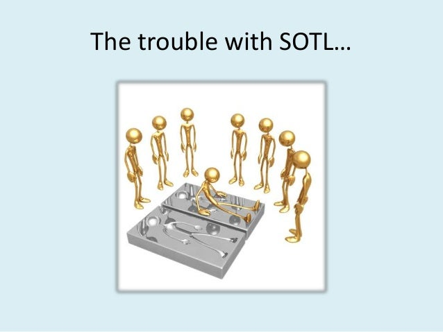 The trouble with SOTL…