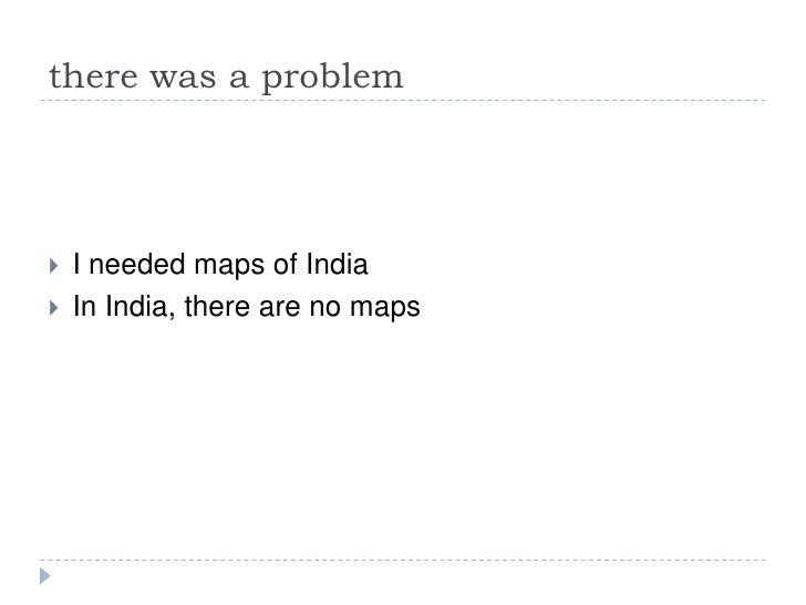 My experiments with Openstreetmap in Chennai, India (SOTM09) Slide 3