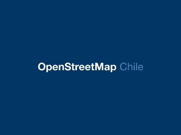 The State of Chile Slide 1