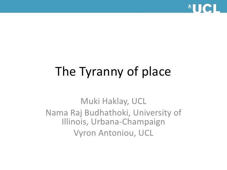 Sotm 2010   the tyranny of place