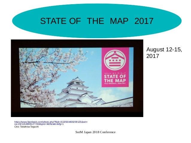 国際カンファレンスSOTMへのボランティア参加 Slide 3