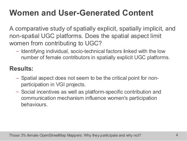 how male and female students participate This evident lack of self-confidence in women in relation to computers is attributed as the reason why five times more male students are likely to pursue computer science studies and related careers the heri report also notes that women students do not participate, as frequently as men do, in internet chat rooms or in other.