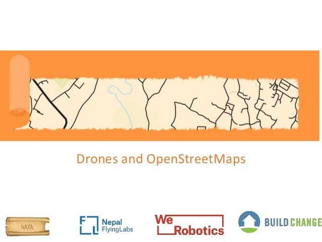 Drones and OpenStreetMaps