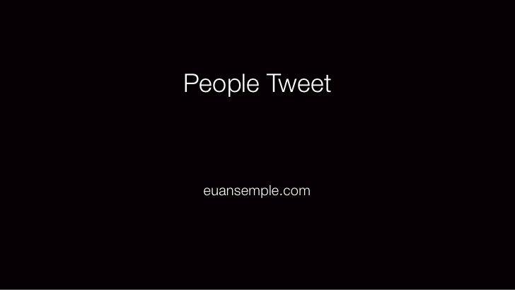 People Tweet euansemple.com