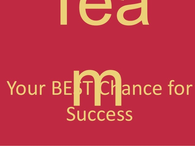 Your BEST Chance for Success