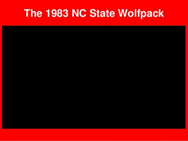 The 1983 NC State Wolfpack