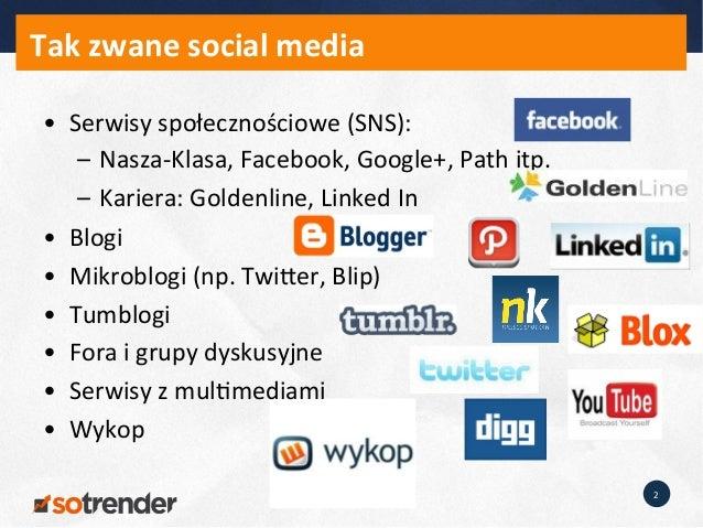 Konferencja AMS Smart City - Jan Zając, Sotrender - Po co miastom social media? Slide 2